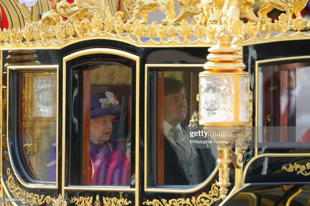 State Visit Of The King And Queen Of The Netherlands - Day One : Nieuwsfoto's