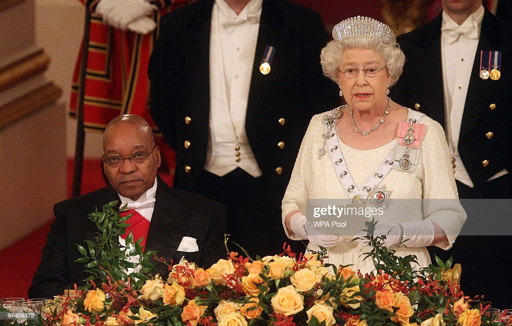 The President Of The Republic Of South Africa Makes A State Visit To The UK : News Photo