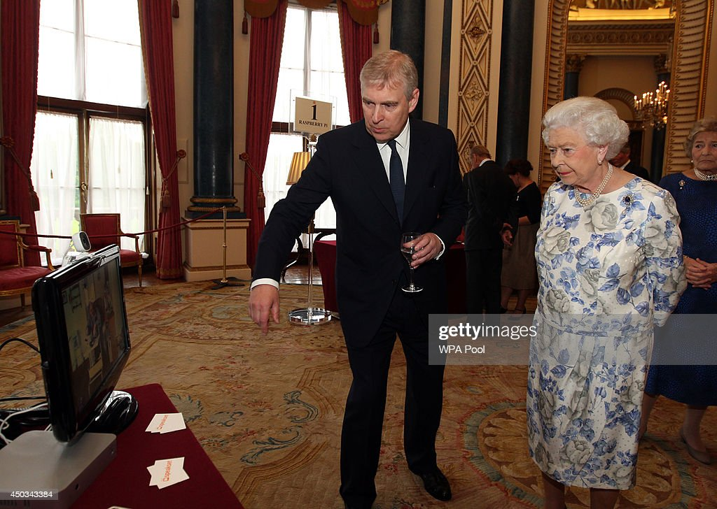 The Queen And Duke Of Edinburgh Host Reception To Recognise The UK Technology Sector : News Photo