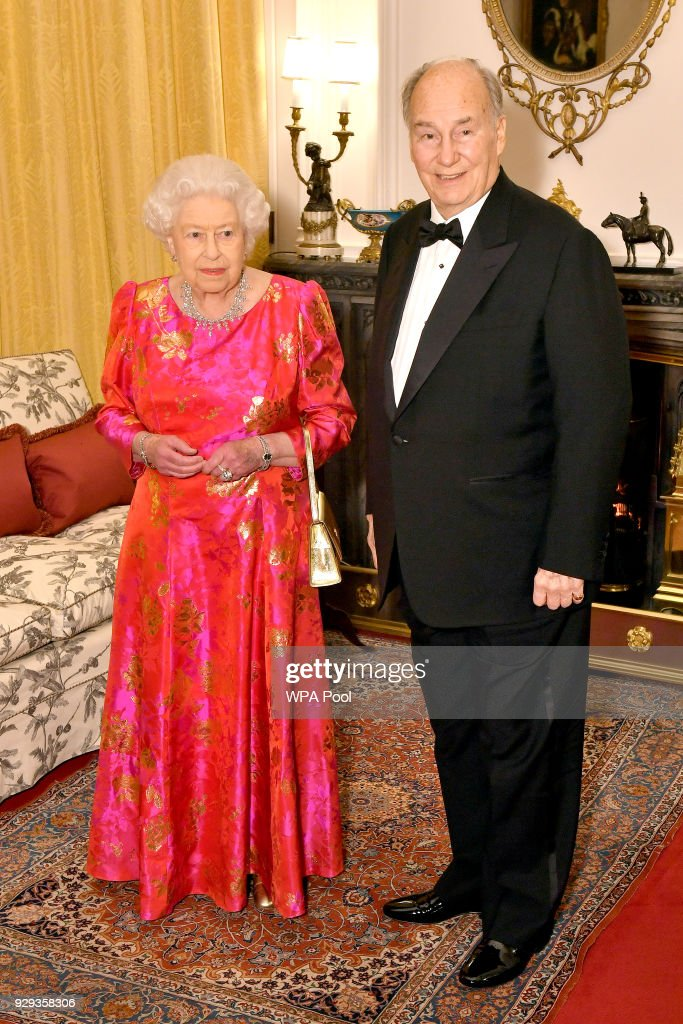 Private Dinner With Queen Elizabeth II At Windsor Castle : News Photo