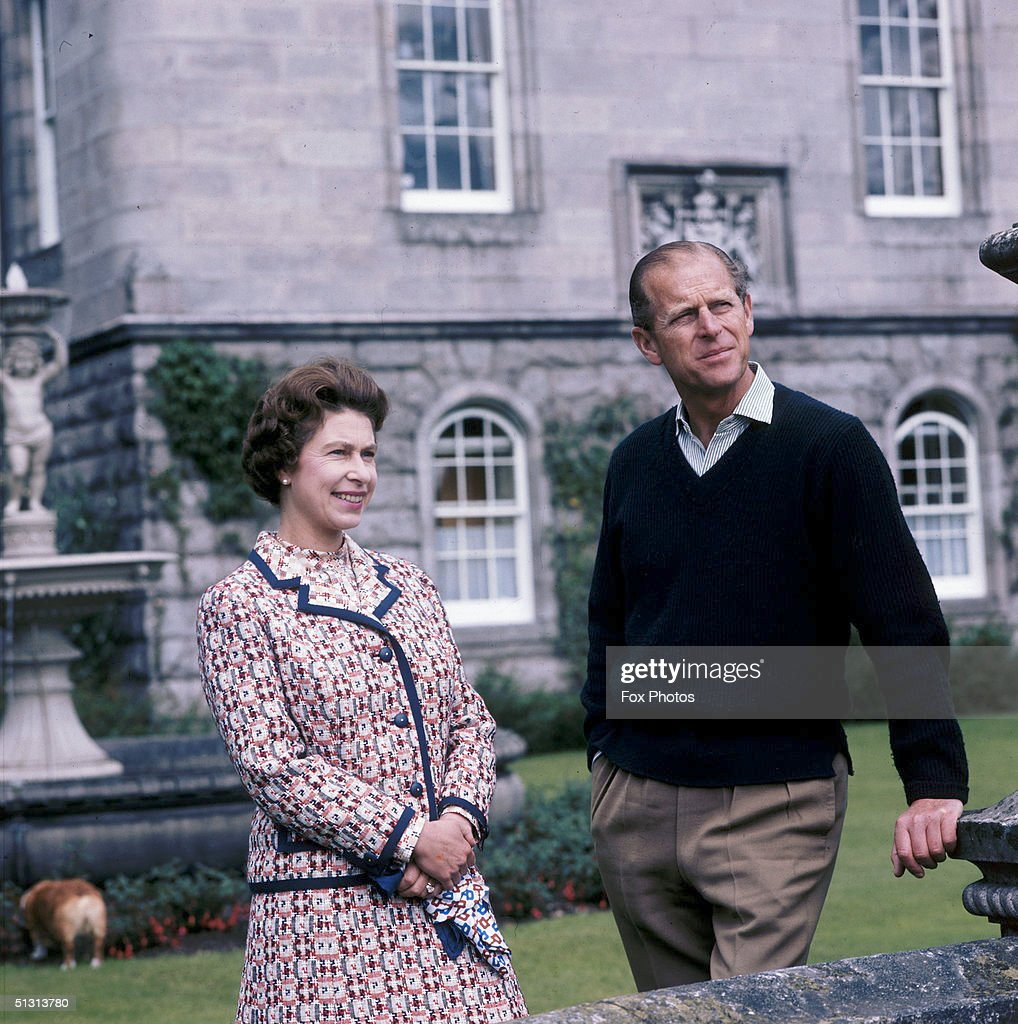Royal Couple At Balmoral : News Photo