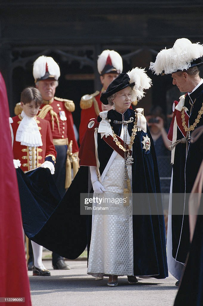 The Order Of The Garter : News Photo