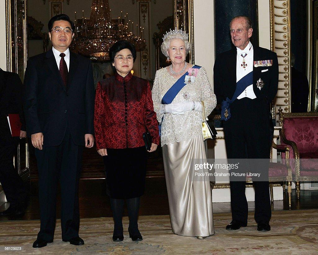 Chinese State Visit Banquet at Buckingham Palace : News Photo