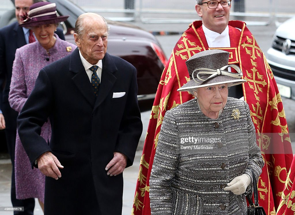 The Queen And Duke Of Edinburgh Attend The Inauguration Of The Tenth General Synod : News Photo