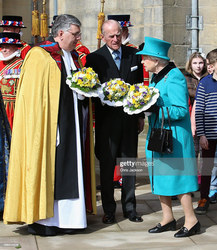 The Queen And Duke Of Edinburgh Will Attend The Royal Maundy Service : News Photo