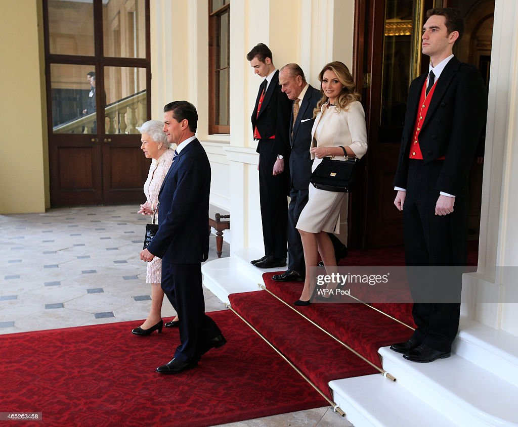Mexico President state visit to Britain - Day Three : News Photo