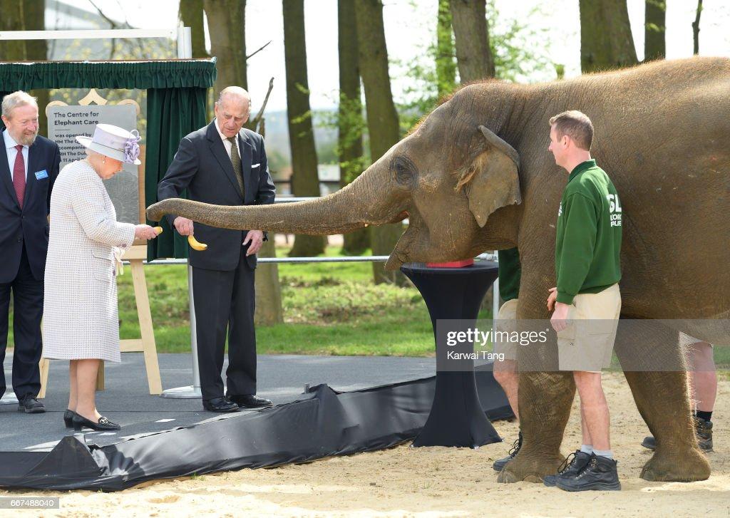 The Queen & Duke Of Edinburgh Visit Bedfordshire : News Photo