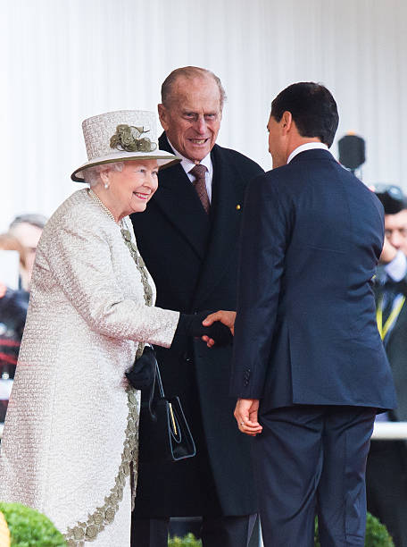 Ceremonial welcome for the president of united mexican states photos queen elizabeth ii and prince philip duke of edinburgh greet mexican president enrique pena nieto m4hsunfo