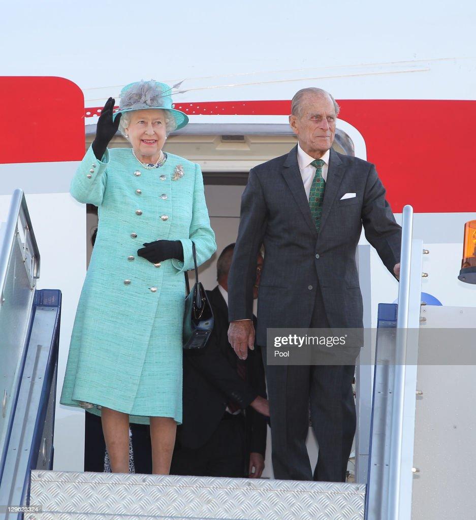 Queen Elizabeth Ii And Duke Of Edinburgh Visit Australia Day 1