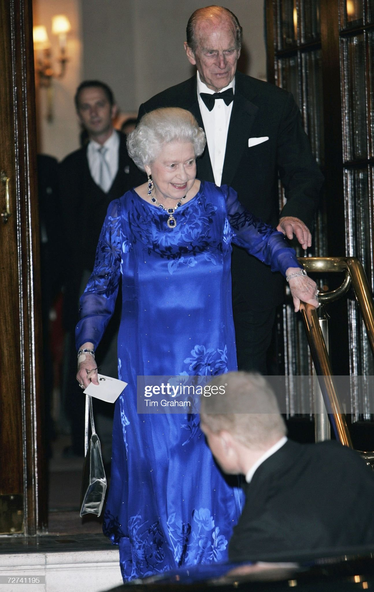 The Queen's 80th Birthday - Private Party at The Ritz Hotel : News Photo