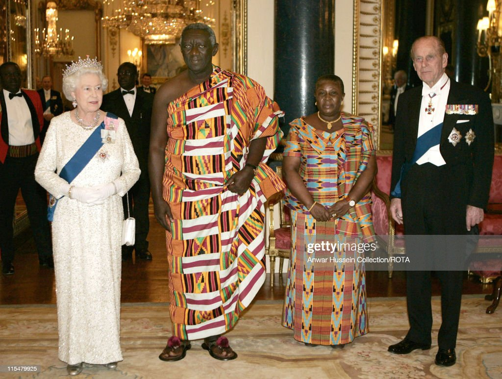 Ghana State Banquet at Buckingham Palace - March 13, 2007 : News Photo