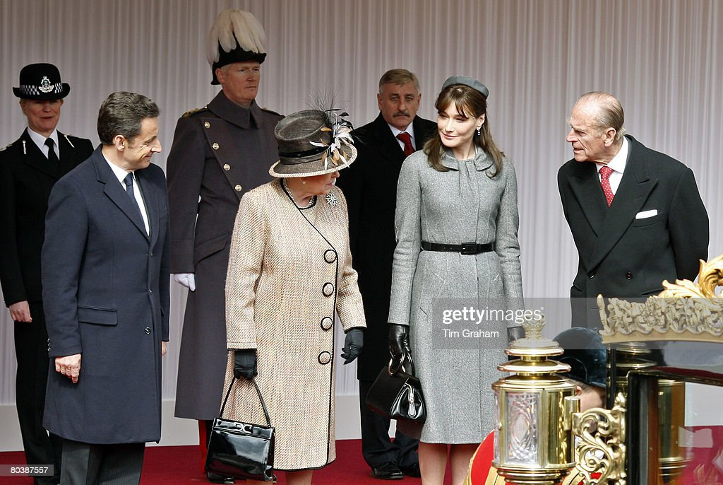 Welcome Ceremony For President Sarkozy State Visit : News Photo