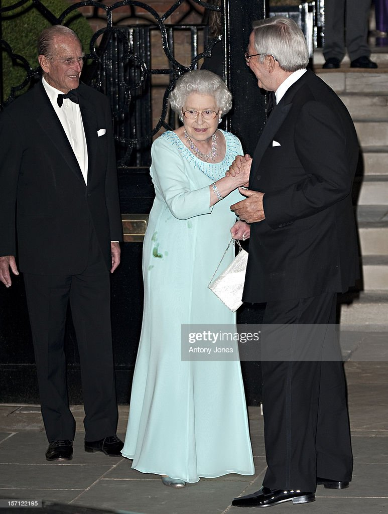 Hm King Constantine 70Th Birthday Celebration - London : ニュース写真