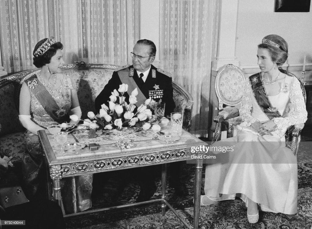 Royal Family in Yugoslavia : News Photo