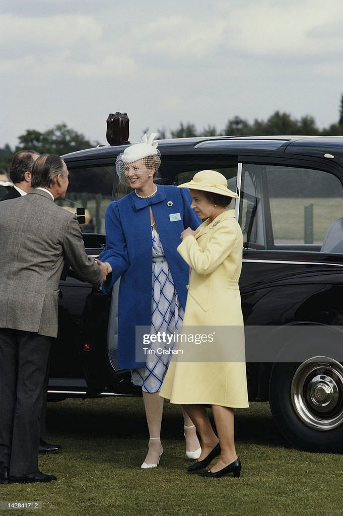 Pair Of Queens : News Photo