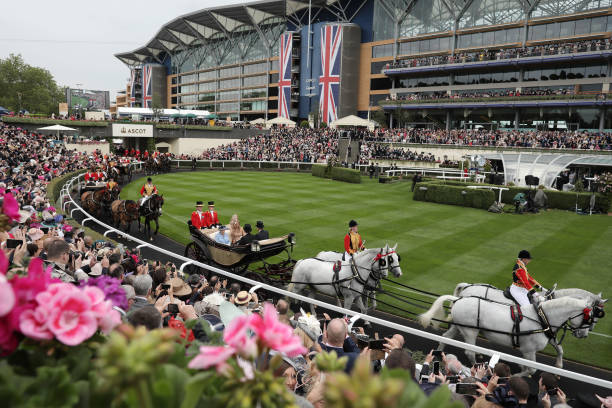 GBR: Racegoers Enjoy the First Day Of Royal Ascot