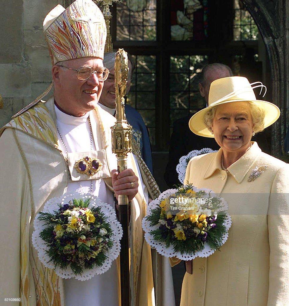 Queen Archbishop Maundy Service : News Photo