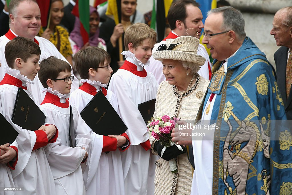 Commonwealth Service At Westminster Abbey : News Photo
