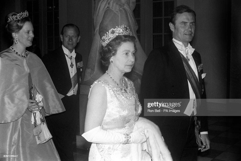 Royalty - Queen Elizabeth II State Visit - Denmark : News Photo