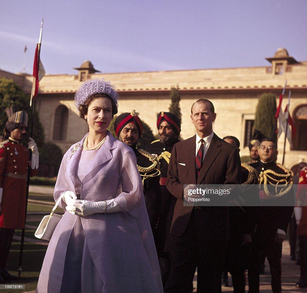 Royal Tour Of India : News Photo