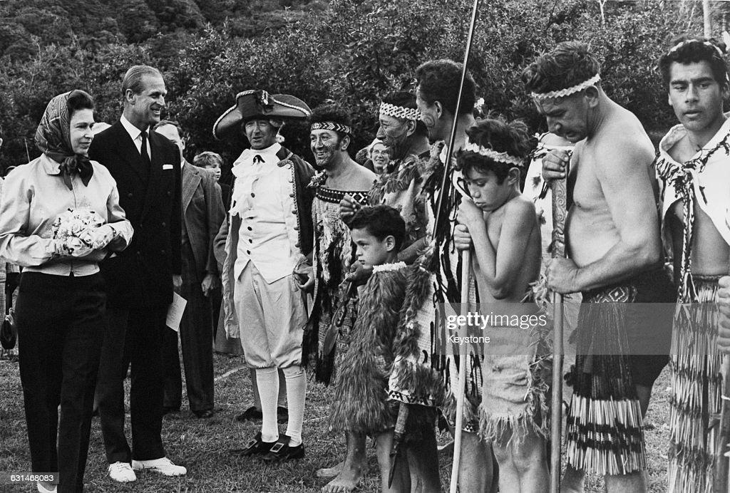 Royal Tour Of New Zealand : News Photo