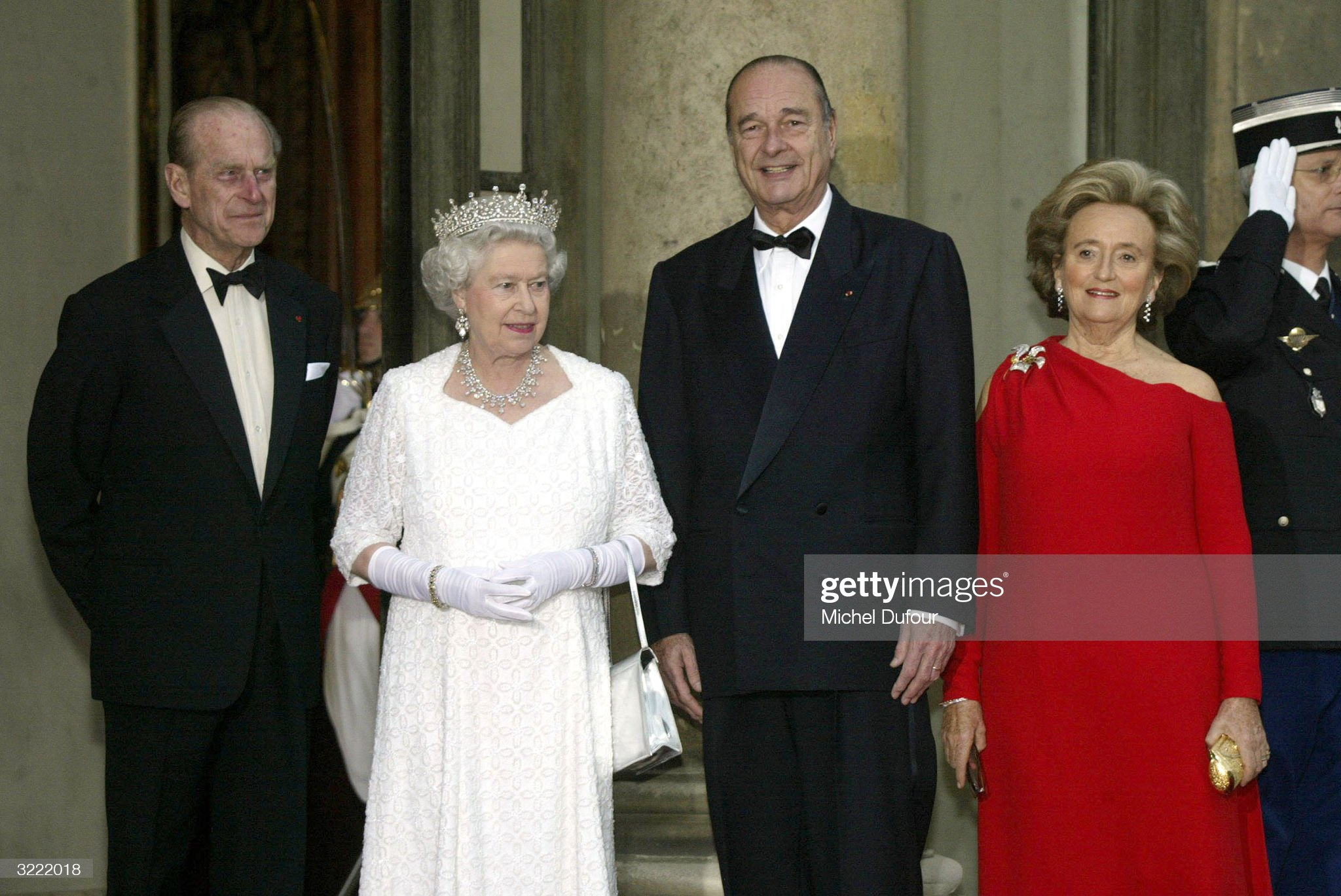 Queen And Duke Of Edinburgh State Visit To France - Reception : News Photo