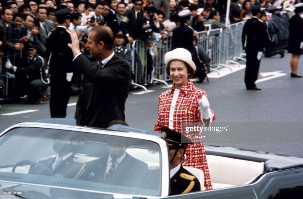 Royalty - Queen Elizabeth II State Visit to Japan : News Photo