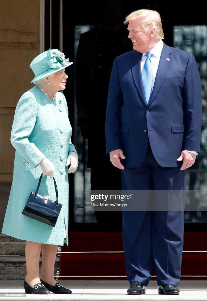 U.S. President Trump's State Visit To UK - Day One : Foto di attualità