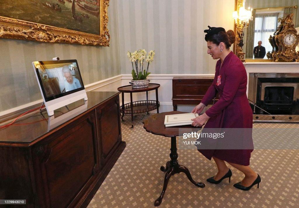 BRITAIN-GEORGIA-ROYALS : News Photo