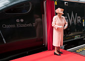 london england queen elizabeth ii arrives