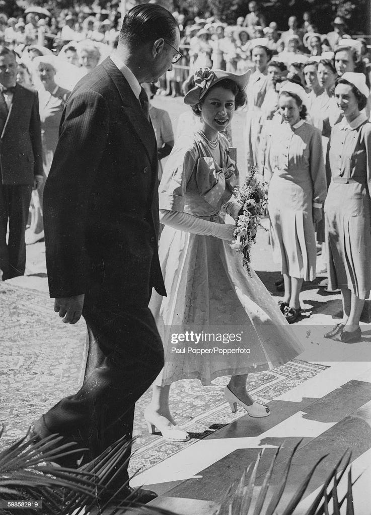 Princess Elizabeth Tours Kenya : News Photo