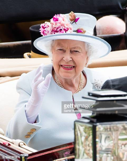 The Tootsie Rollers attend Royal Ascot Day 2 at Ascot Racecourse on June 20 2018 in Ascot United Kingdom