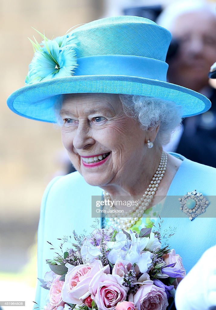 The Queen And The Duke Of Edinburgh Visits Derbyshire : News Photo