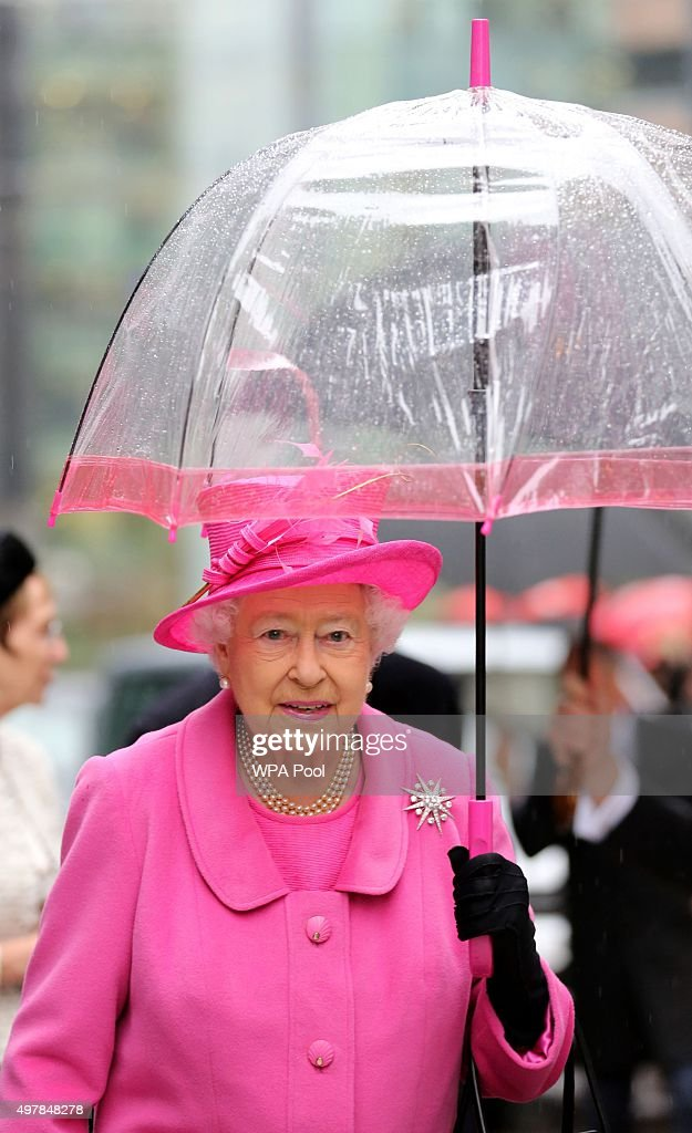 The Queen And The Duke Of Edinburgh Visit Birmingham : News Photo
