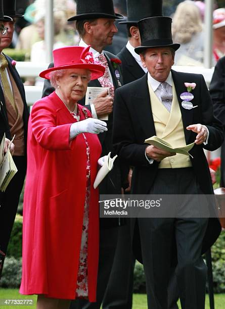 Queen Elizabeth II arrives for day 1of Royal Ascot at Ascot Racecourse on June 16 2015 in Ascot England