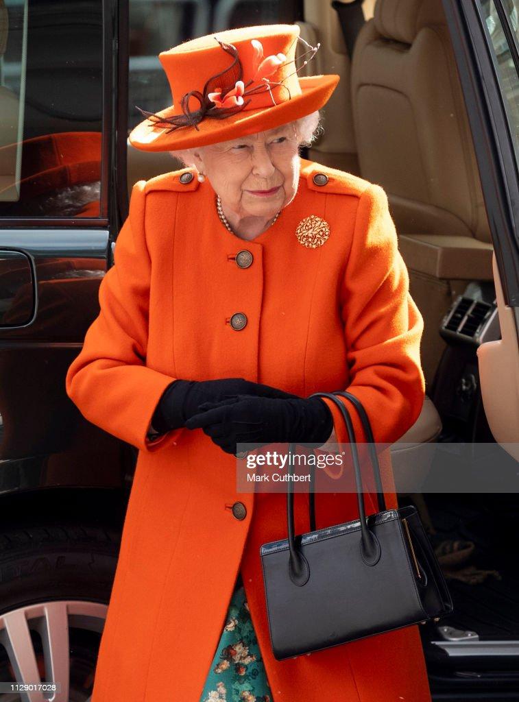 GBR: Queen Elizabeth II Visits The Science Museum
