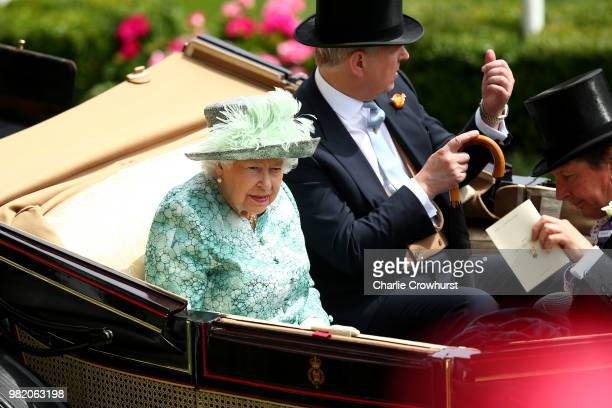 Horses on day 5 of Royal Ascot at Ascot Racecourse on June 23 2018 in Ascot England