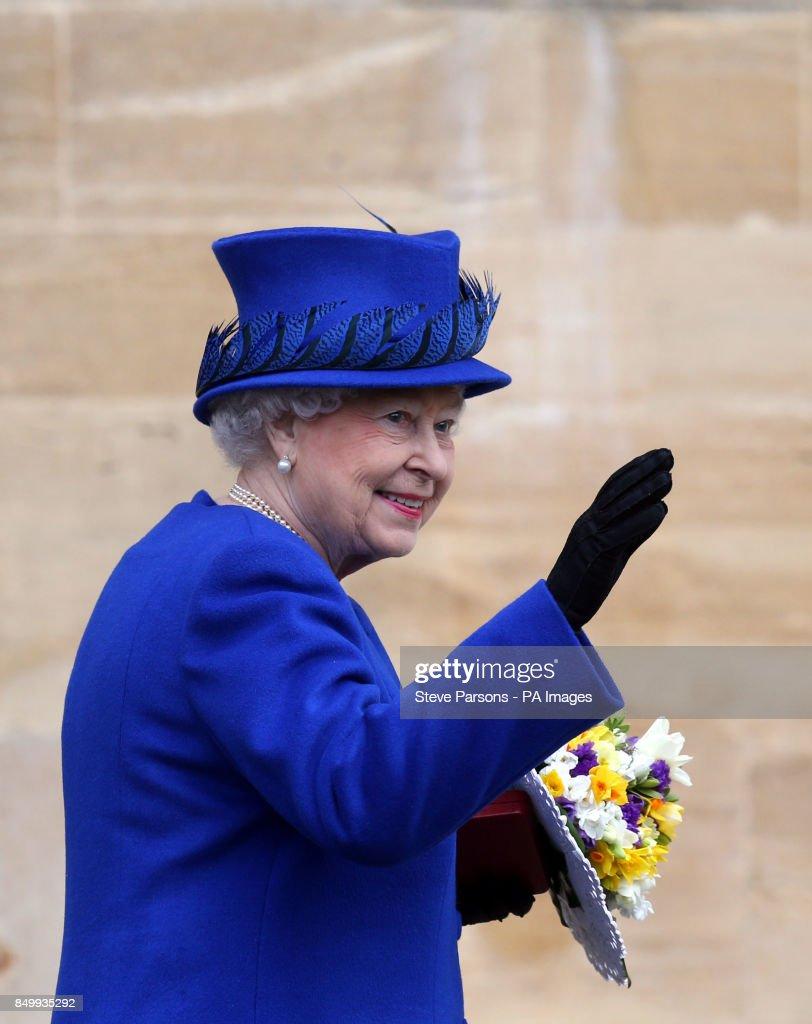 Royal Maundy service - Oxford : News Photo