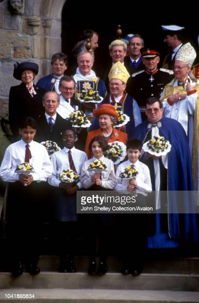 Queen Elizabeth II at the Maundy Service in Bradford 27th March 1997