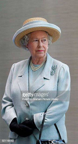 Queen Elizabeth II At The Opening Of The Tanaka Business School At Imperial College In London