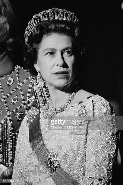 Queen Elizabeth II at the Royal Opera of Versailles