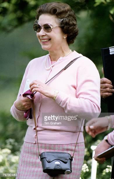 Queen Elizabeth II at Windsor Horse Show