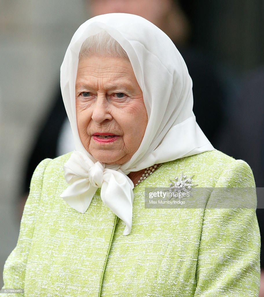 Queen Elizabeth Ii Attends A Beacon