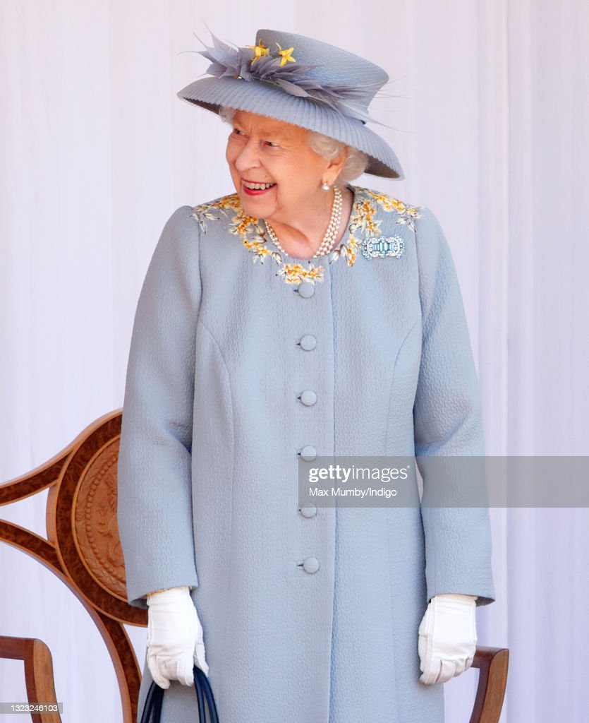 Trooping Of The Colour 2021 : News Photo