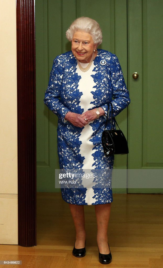 The Queen Attends A Reception For Female Permanent Secretaries : News Photo
