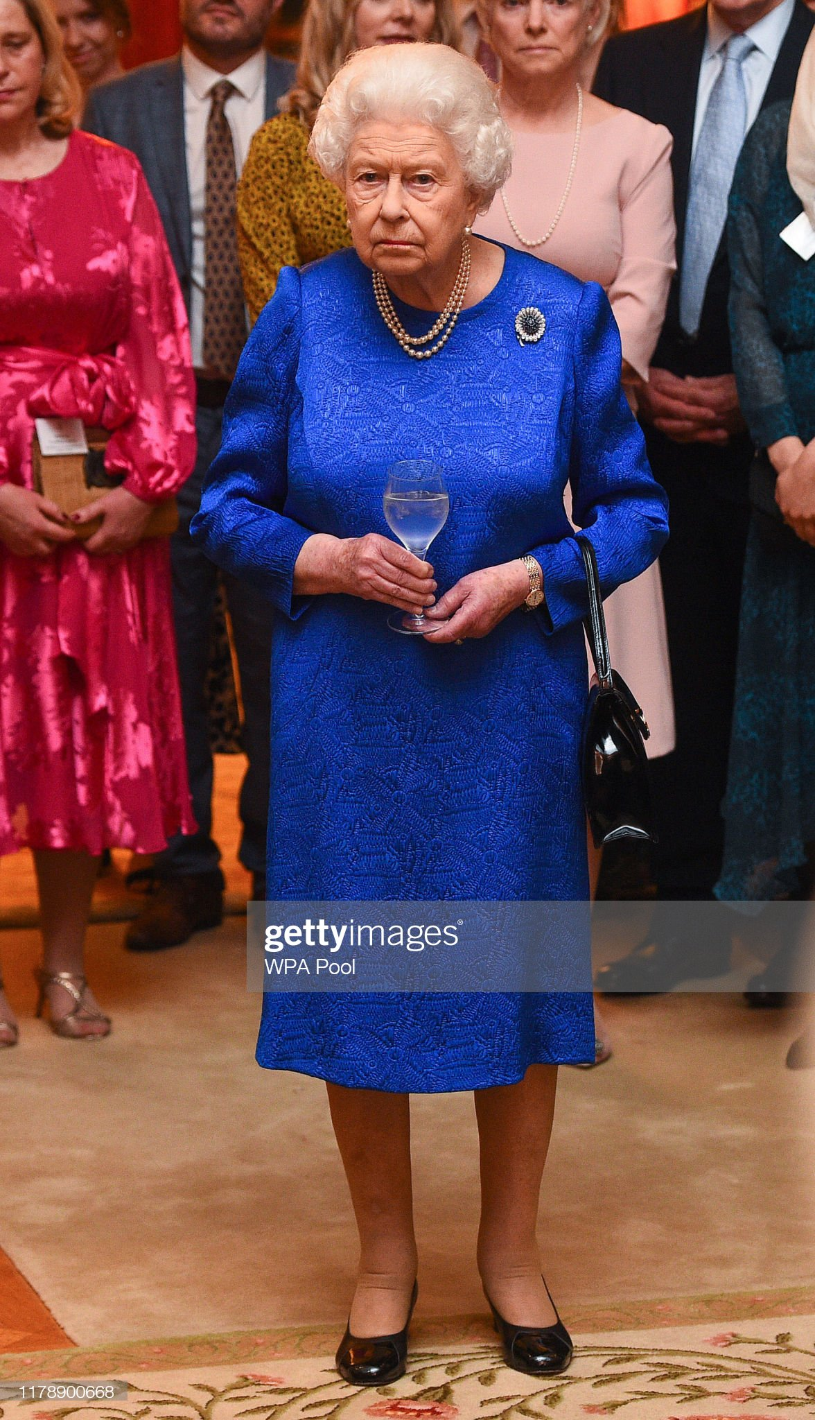 The Queen Hosts A Reception To Celebrate The Work Of The Queen Elizabeth Diamond Jubilee Trust : News Photo