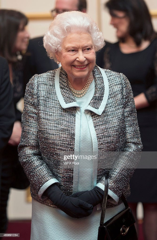 The Queen Attends Reception To Mark 80th Anniversary Of Diabetes UK : News Photo