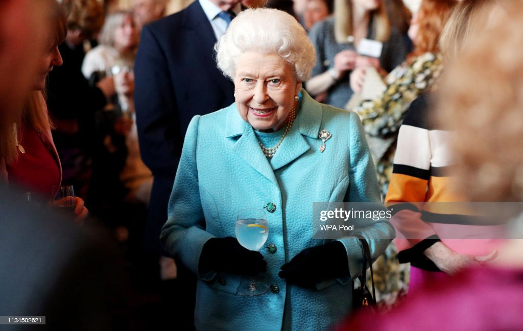 The Queen Hosts A Reception To Mark The 100th Anniversary Of The National Council For Voluntary Organisations : News Photo