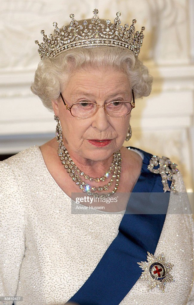 State Banquet in honour of HRH Queen Elizabeth ll : News Photo