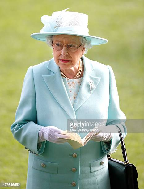 Queen Elizabeth II attends day 3 Ladies Day of Royal Ascot at Ascot Racecourse on June 18 2015 in Ascot England